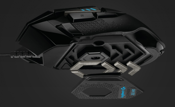 logitech g502 hero weight chuot