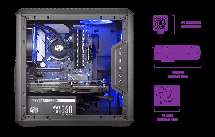 Case máy tính Cooler Master MasterBox Q300L -6