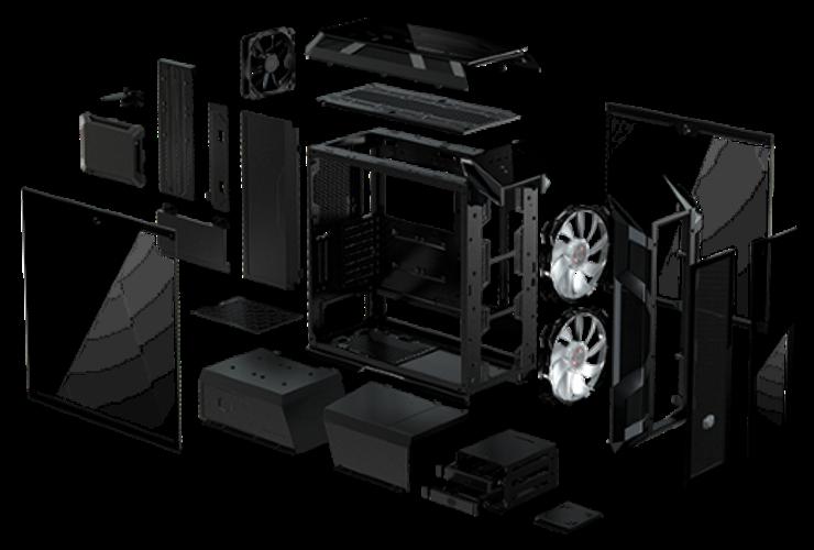 Case máy tính Cooler Master MasterCase H500M -4