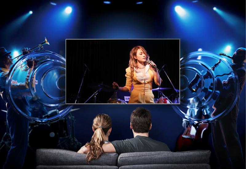âm thanh bùng nổ giúp người xem có trải nghiệm tốt nhất