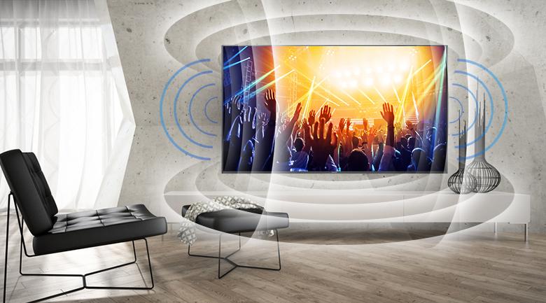 âm thanh vòm độc đáo giúp người dùng trải nghiệm tốt nhất
