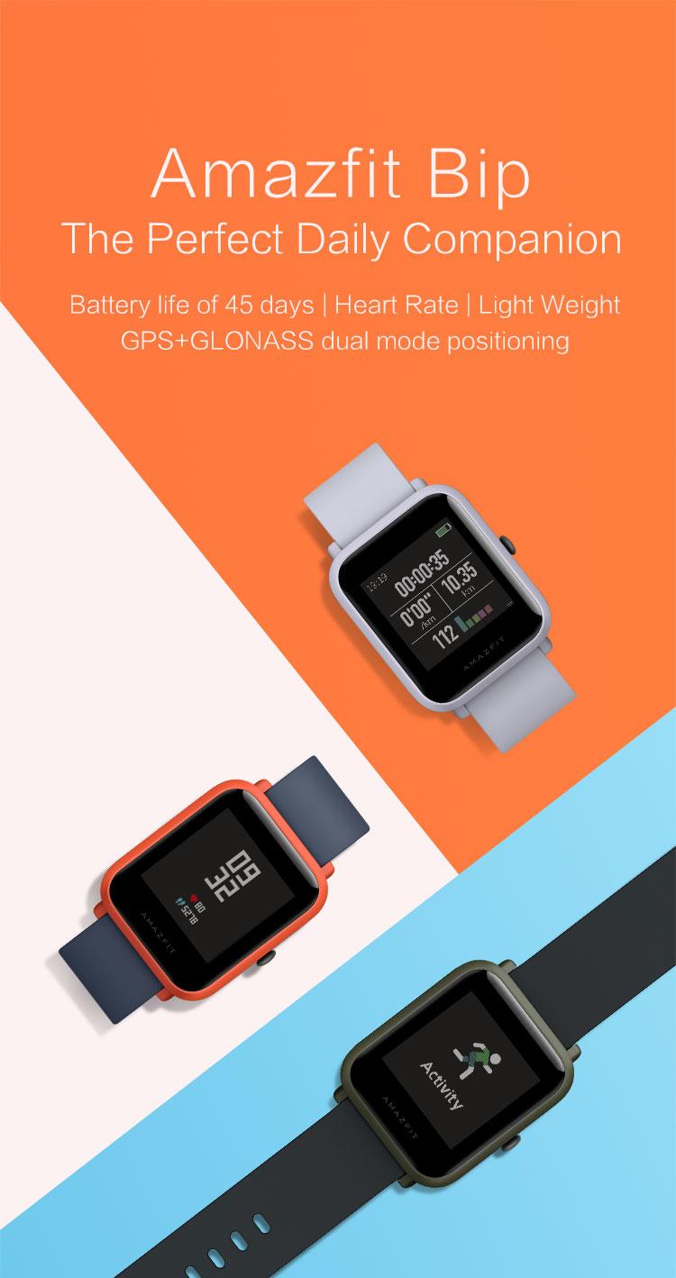 Đồng Hồ Thông Minh - Smartwatch Amazfit BIP_A1608_1
