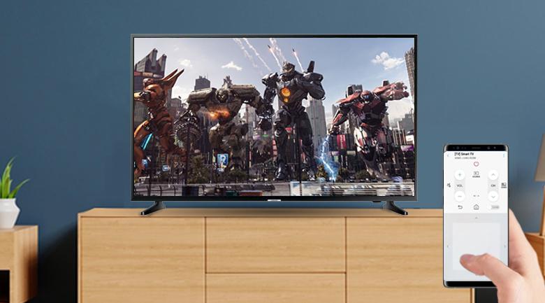 điều khiển tivi dễ dàng qua điện thoại nhờ ứng dụng smartthing
