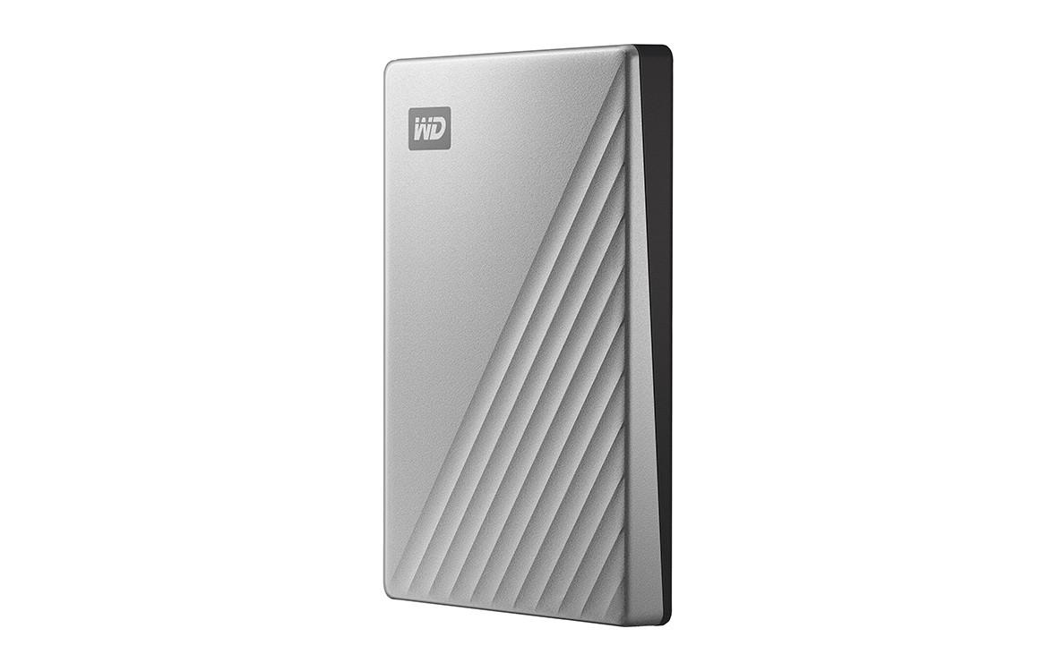 "Ổ cứng HDD WD My Passport Ultra 1TB 2.5"",3.0 (WDBC3C0010BSL-WESN) (Bạc)_3"