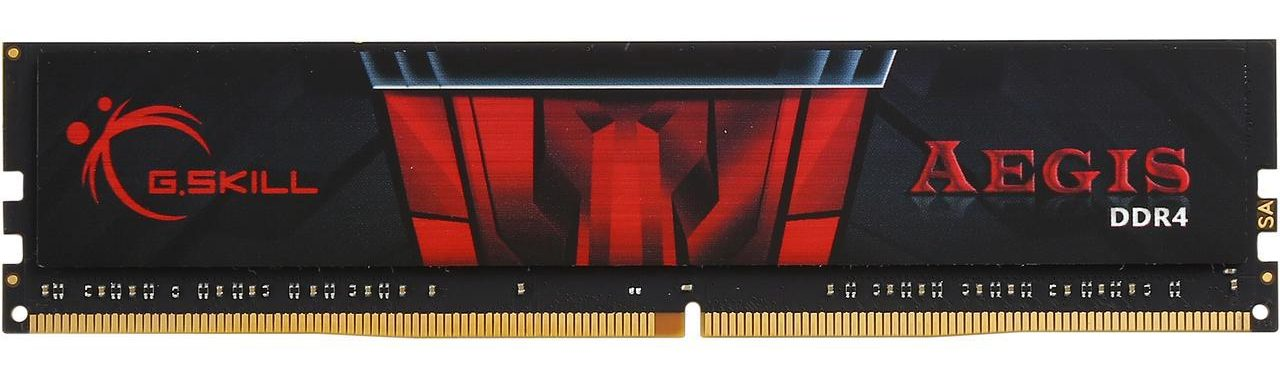 RAM G.SKILL 1x8GB Aegis DDR4 2400MHz - F4-2400C17S-8GIS