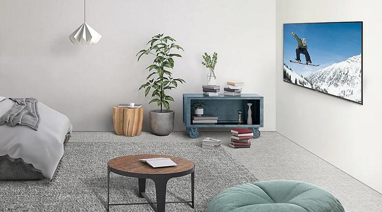 Smart Tivi Samsung 4K 55 inch UA55RU7100KXXV thiết kế đẹp mắt, chất lượng