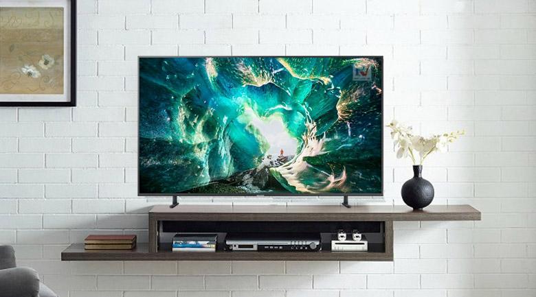 Smart Tivi Samsung 4K 55 inch UA55RU8000KXXV thiết kế hiện đại sang trọng