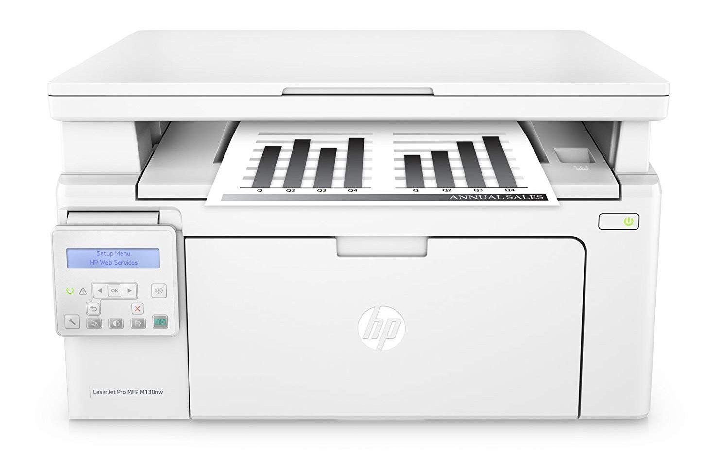 Máy in laser trắng đen HP Pro MFP M130NW (G3Q58A)