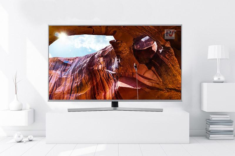 Smart Tivi Samsung 4K 50 inch UA50RU7400KXXV thiết kế đẹp mắt phù hợp với mọi không gian