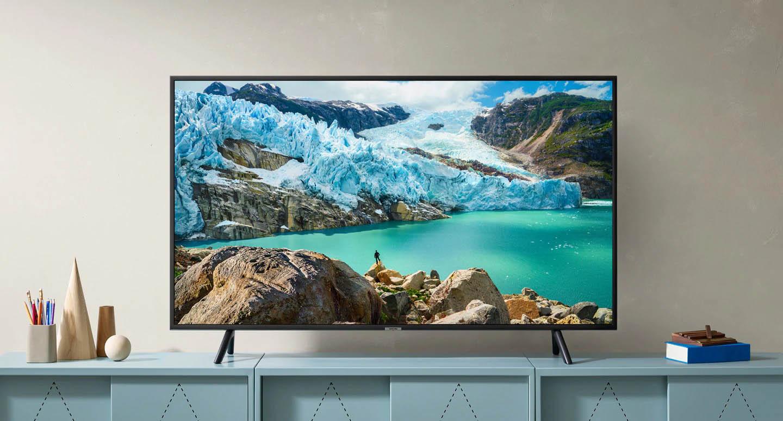 Smart Tivi Samsung 4K 55 inch UA55RU7200KXXVthiết kế sang trọng phù hợp với mọi không gian
