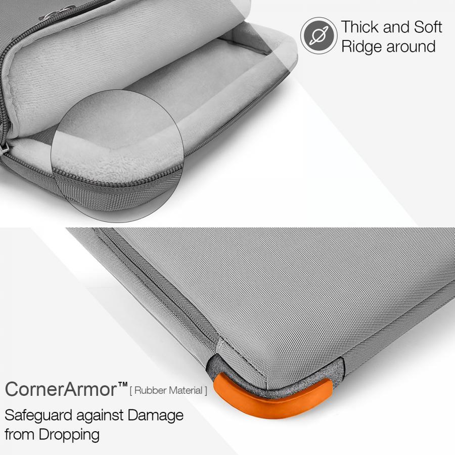 Thiết kế CornerArmor gia cố khả năng chống va đập của chiếc túi