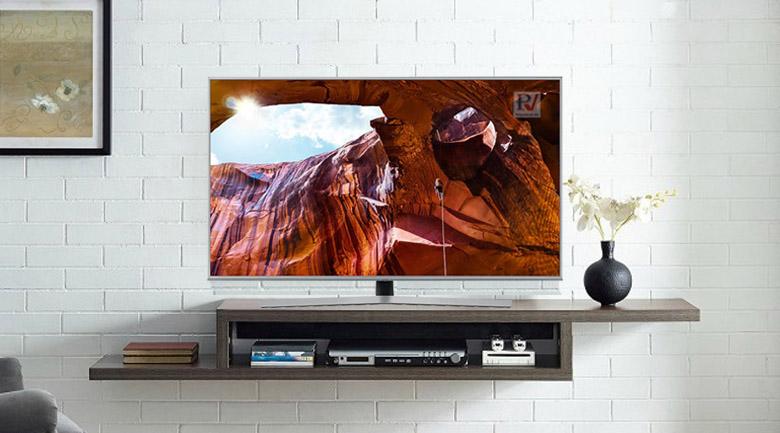Smart Tivi Samsung 4K 55 Inch UA55RU7400KXXV thiết kế phù hợp với mọi không gian