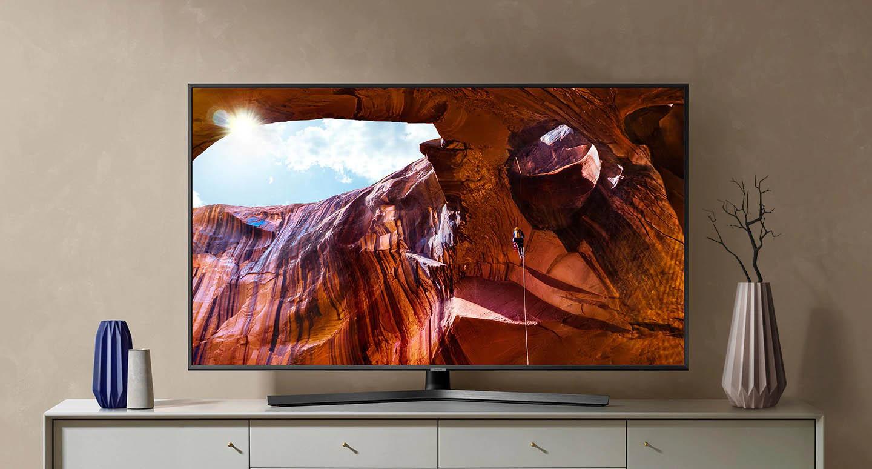 Smart Tivi Samsung 4K 65 Inch UA65RU7400KXXV thiết kế sang trọng đẹp mắt