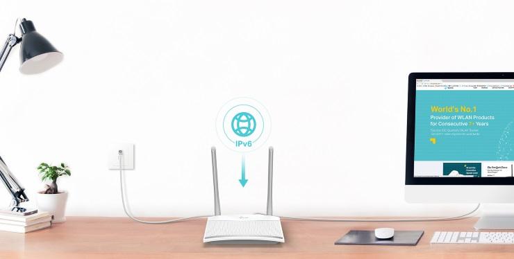 Router Wi-Fi Chuẩn N Tốc Độ 300Mbps TL-WR820N