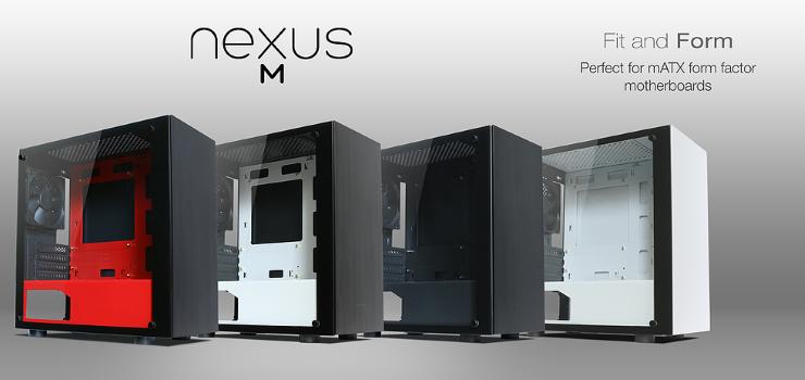Thùng máy Case Nexus M White