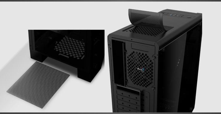 Case máy tính Aerocool Cylon MID TOWER RGB màu Trắng