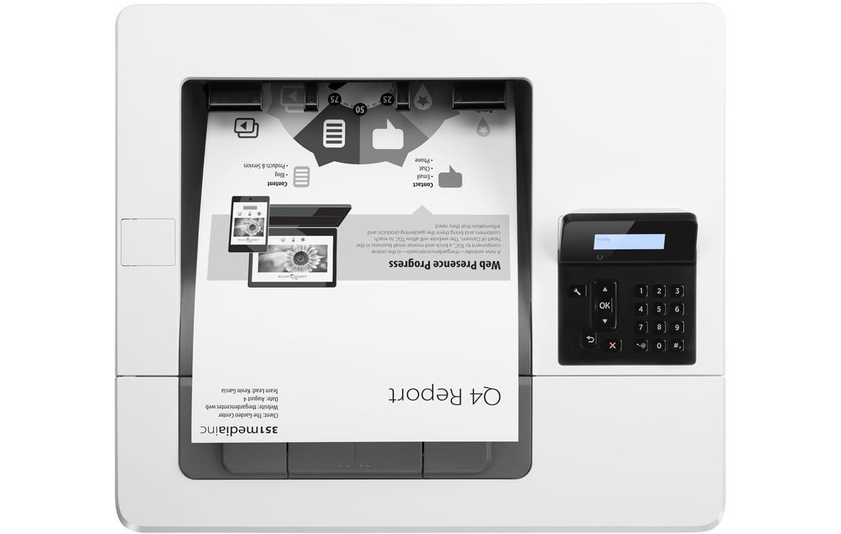 máy in laser trắng đen HP Pro M501n (J8H60A) với bản in sắc nét chất lượng