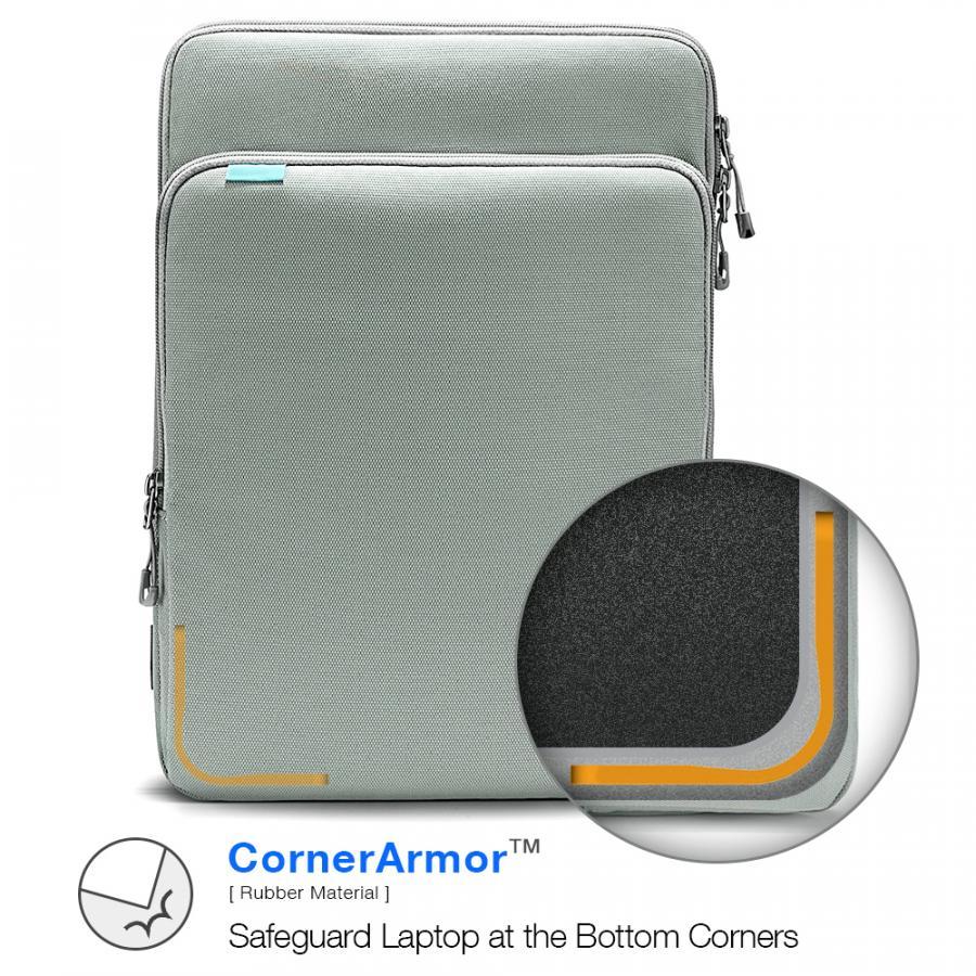 Thiết kế Tomtoc Protective Premium bo mép bảo vệ thiết bị ở nơi dễ va chạm nhất