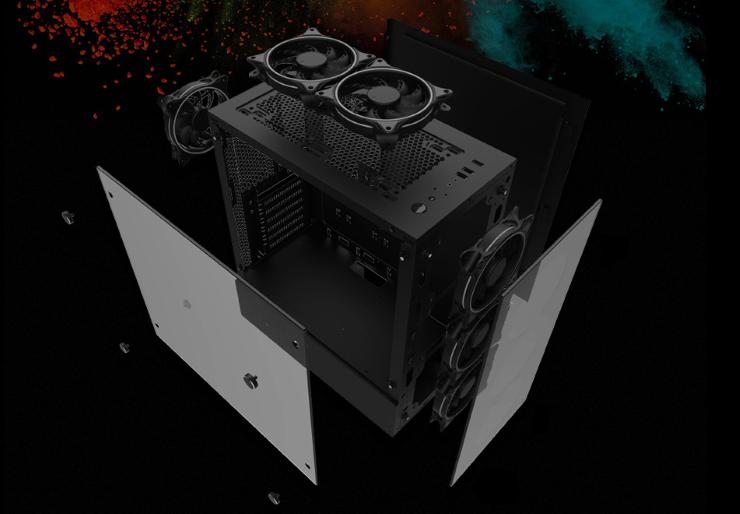 thùng máy - Case Jetek 9010