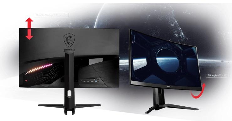 Giới thiệu sản phẩm màn hình MSI Optix 31.5 inch MAG321CQR