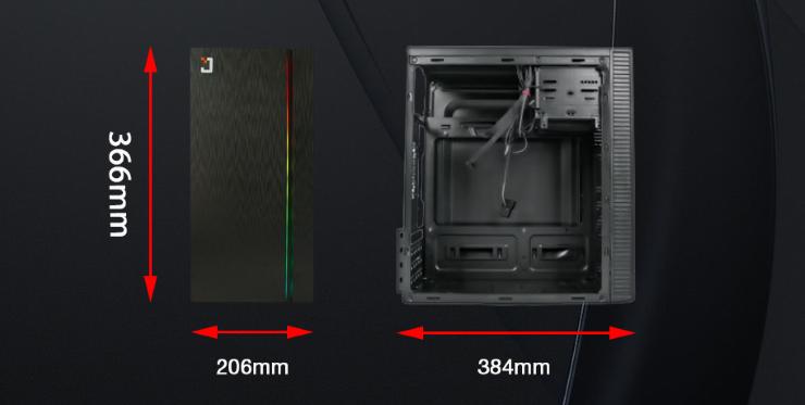 Thùng máy Case Jetek EM3