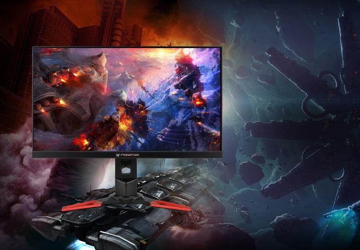 LCD Acer 24 inch Predator XB241H