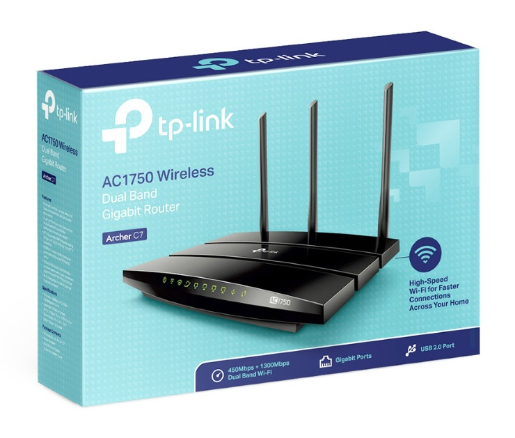 Router Wifi TP-Link Archer C7 1750