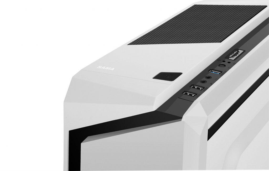 Case máy tính Sama Esport 2 White Black