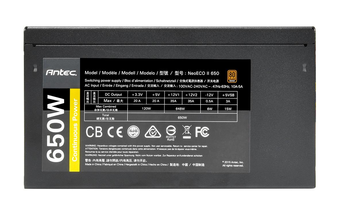 Antec NeoECO II 650