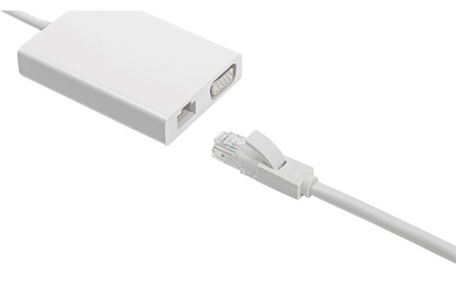 Bộ chuyển đổi/ Adapter Xiaomi chuyển USB Type C sang VGA - Ethernet (JGQ4005TY)_2