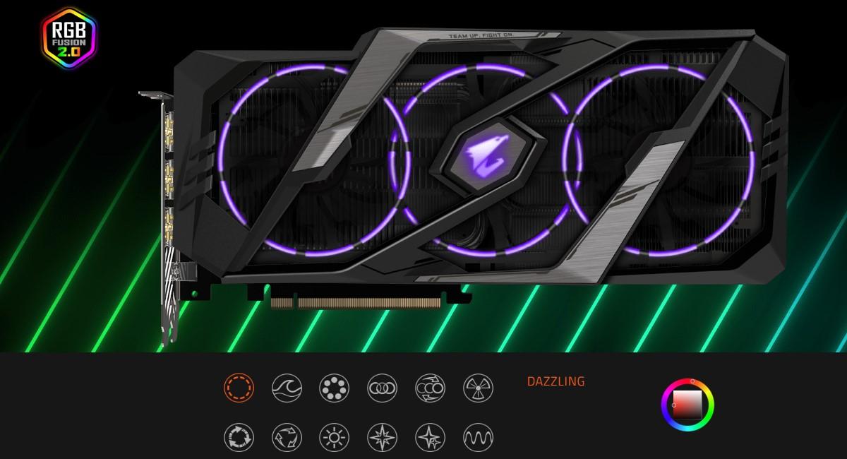 GIGABYTE GeForce RTX 2080 8GB GDDR6 AORUS Xtreme