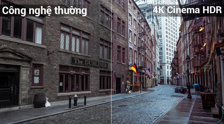 công nghệ HDR giúp hình ảnh chân thực như ngoài đời thực