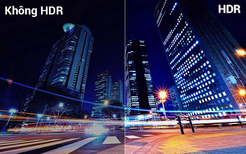 công nghệ HDR đem tới hình ảnh sắc nét, chân thực