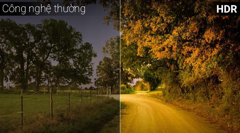 công nghệ HDR đem tới hình ảnh sắc nét tới từng chi tiết