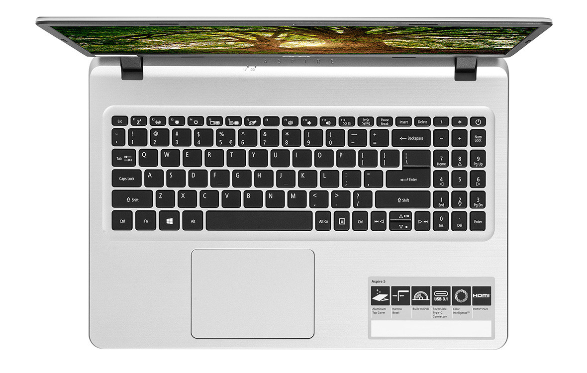 Overview Laptop Acer Aspire A515-53-3153 (NX.H6BSV.005) 6