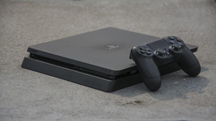 Máy chơi game Playstation 4 Slim 1TB (CUH-2218B B01)_2