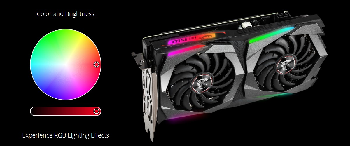 Card màn hình MSI GeForce GTX 1660Ti 6GB GDDR6 Gaming