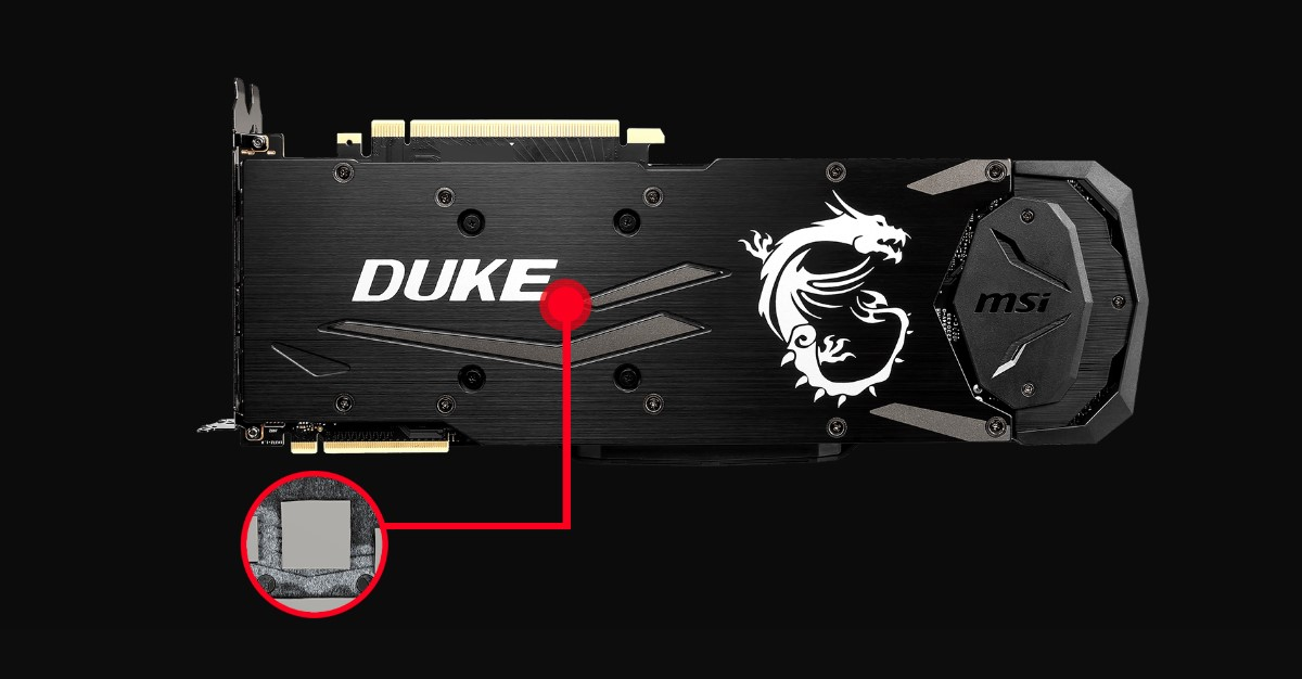 MSI GeForce RTX 2080 8GB GDDR6 DUKE