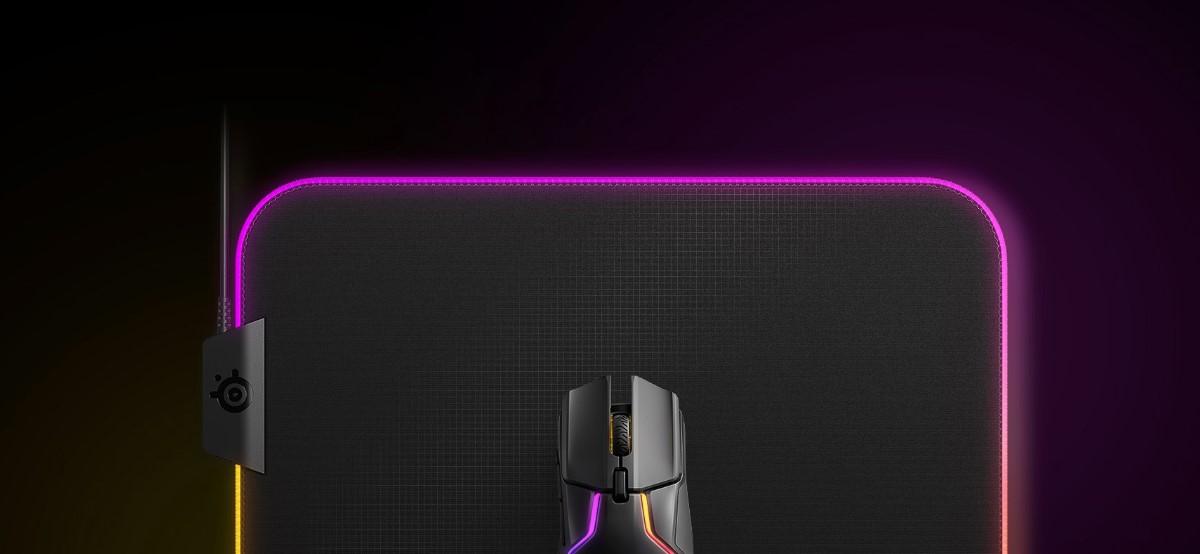 Lót chuột SteelSeries QcK Prism Cloth RGB
