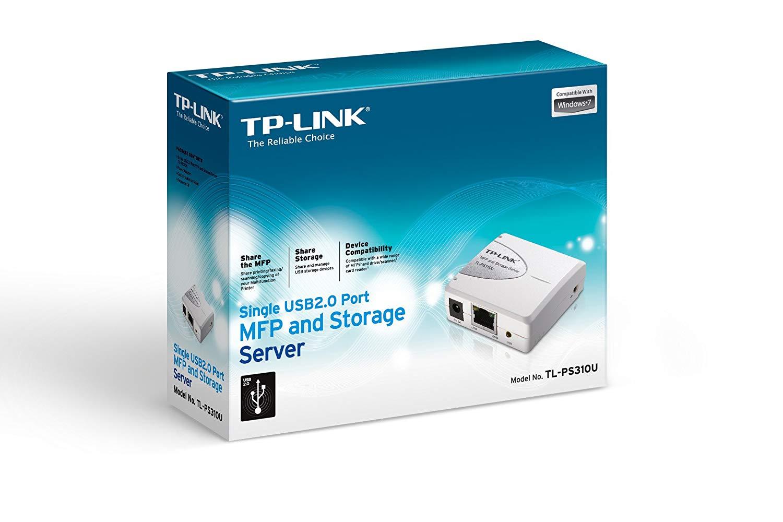 Thiết bị mạng TP-Link TL-PS310U - Print Server_4