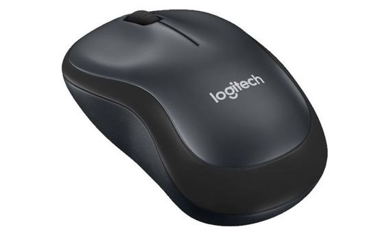 Chuột Logitech không dây M221 (Silent) USB Black/ Blue/ Red chơi game,dành cho game thủ