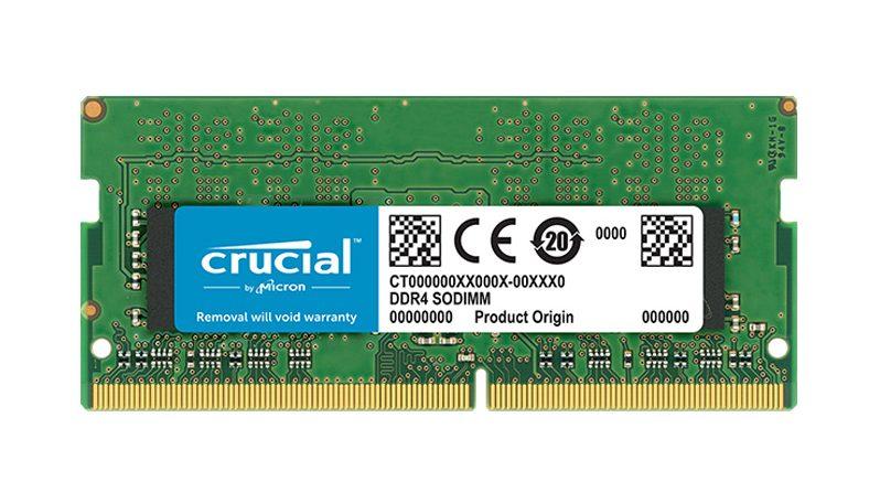 Bộ nhớ/RAM laptop DDR4 Crucial 16GB (2666) - CT16G4SFD8266
