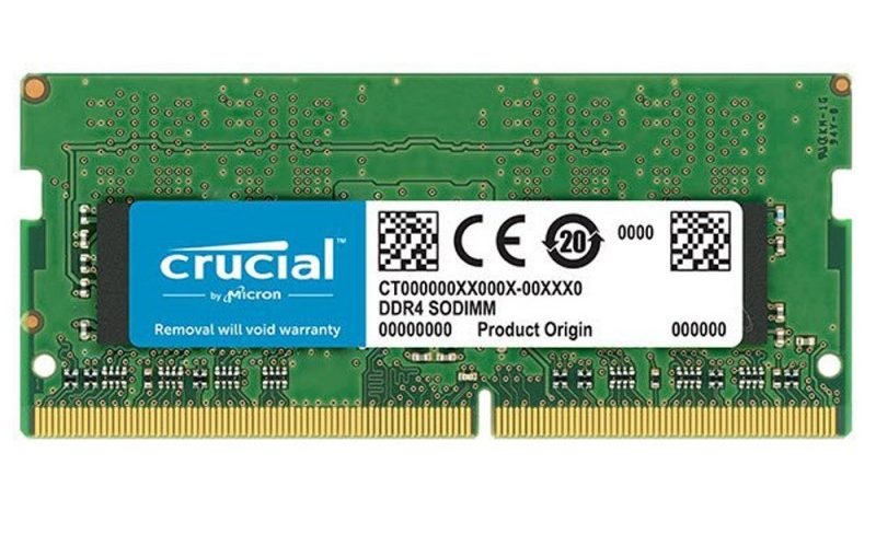 Bộ nhớ/RAM laptop DDR4 Crucial 16GB (2666) - CT16G4SFD8266 mang nhiều đặc tính phù hợp với dòng RAM dành cho laptop