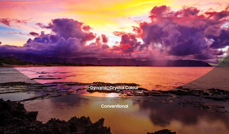 dynamic crystal colour đem tới màu sắc sống động gần gũi tự nhiên