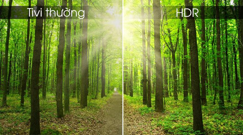 công nghệ HDR cho hình ảnh sắc nét tới từng chi tiết