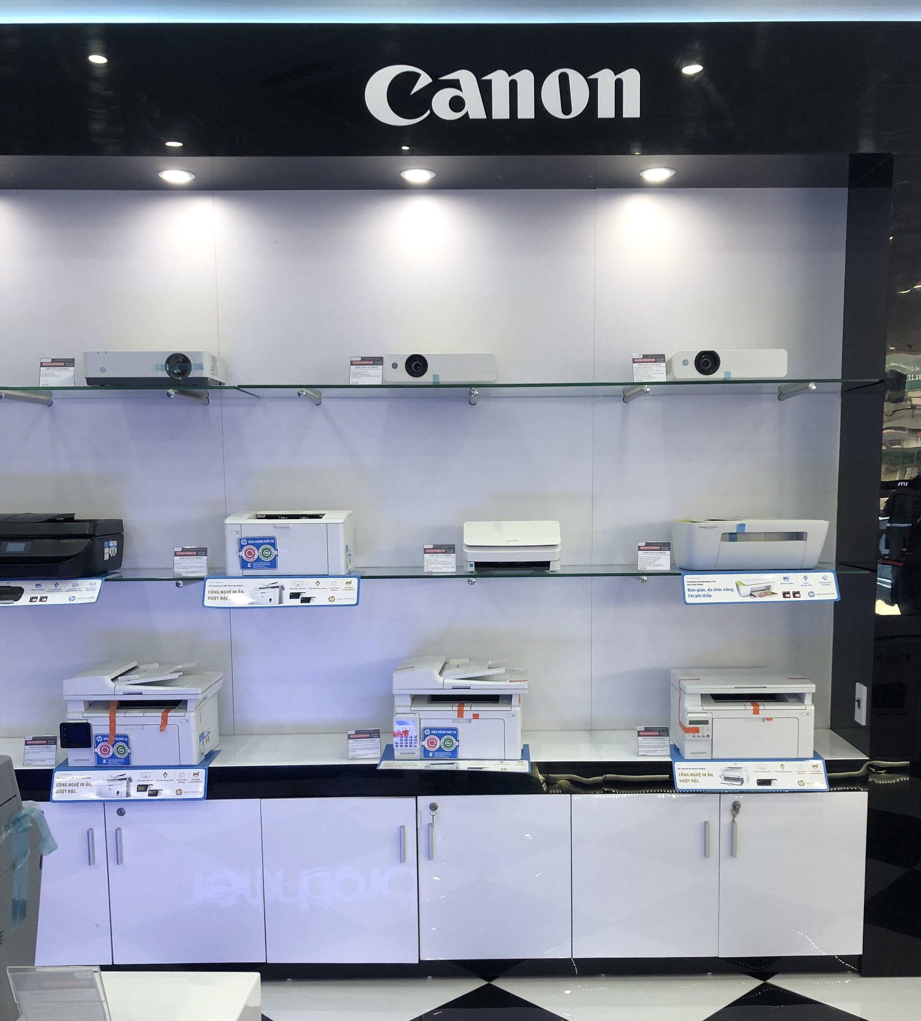 máy in canon với chất lượng độ bền cực cao