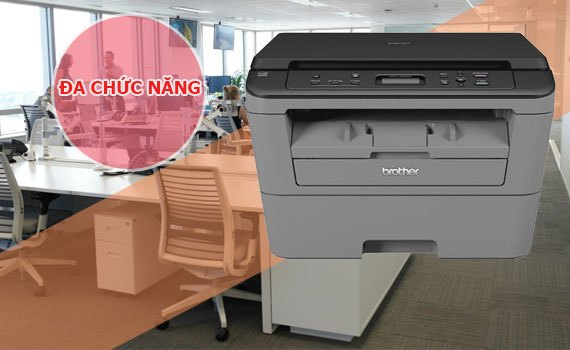 Máy in laser trắng đen BROTHER DCP-L2520D-2