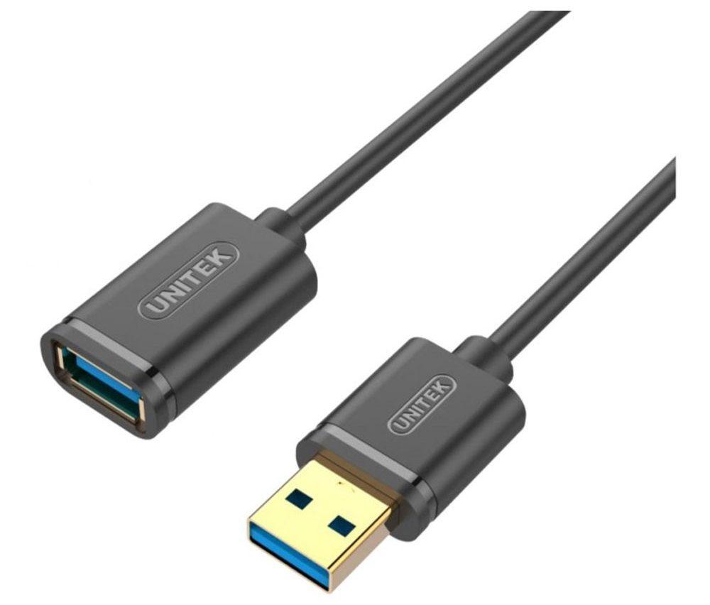 Cáp USB Nối Dài 3.0 (1.5m) Unitek Y-C458GBK thiết kế chắc chắn sử dụng vô cùng ổn định