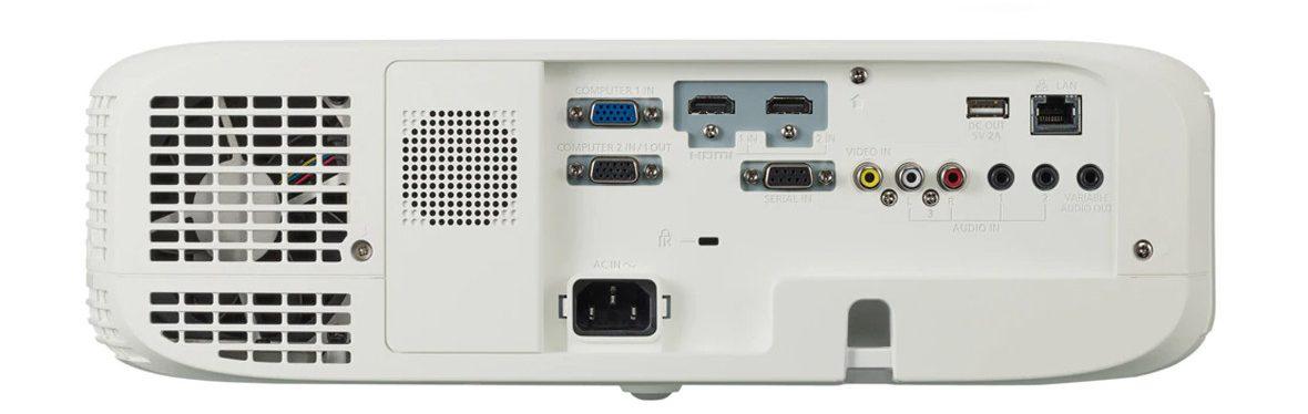 Máy chiếu Panasonic PT-VW540 trang bị nhiều cổng kết nối