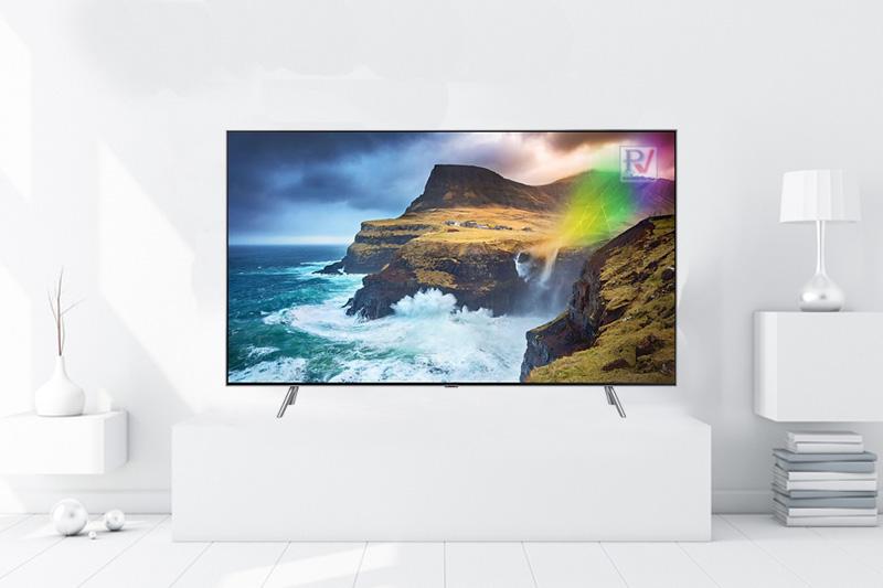 Smart Tivi Qled Samsung 4K 49 inch QA49Q75RAKXXV thiết kế đẹp mắt